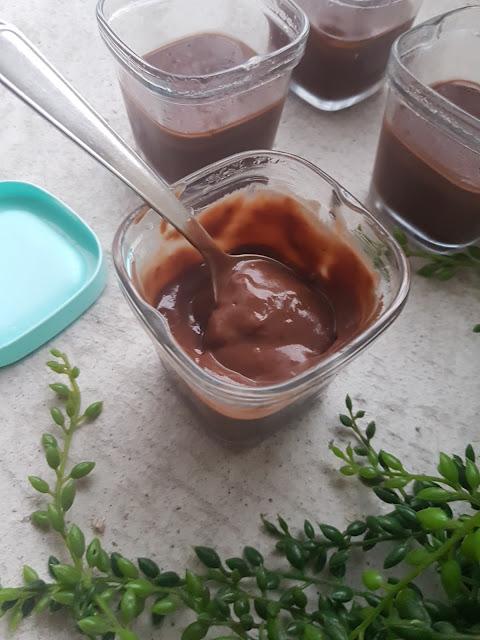 Crème dessert au chocolat et noisette