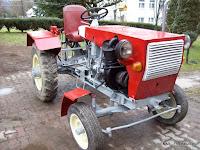 Sam, traktor, Stępina