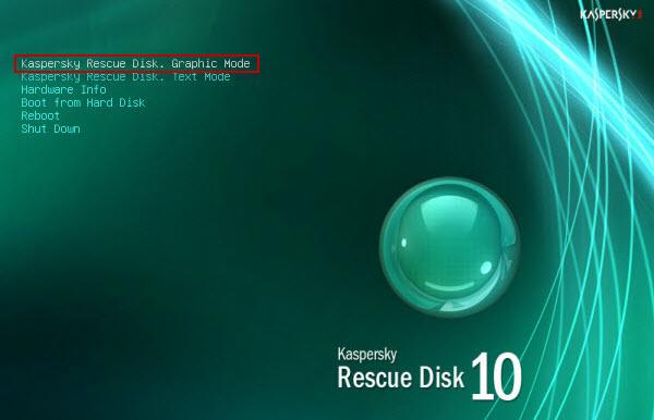 طريقة عمل اسطوانة Kaspersky لتنظيف جهازك وازالة كافة انواع الفيروسات