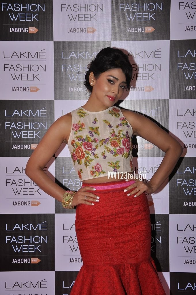 Beautiful Shriya Saran in Hot Dress