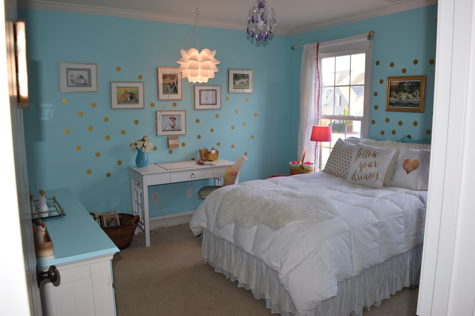 The Chalkboard Cottage 10 Year Old Girl 39 S New Room Make