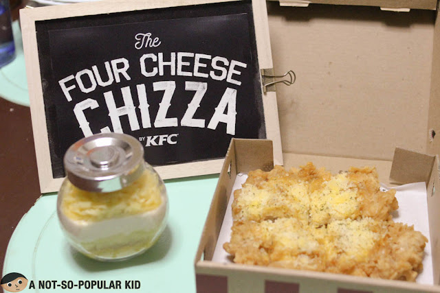 KFC 4 Cheese Chizza