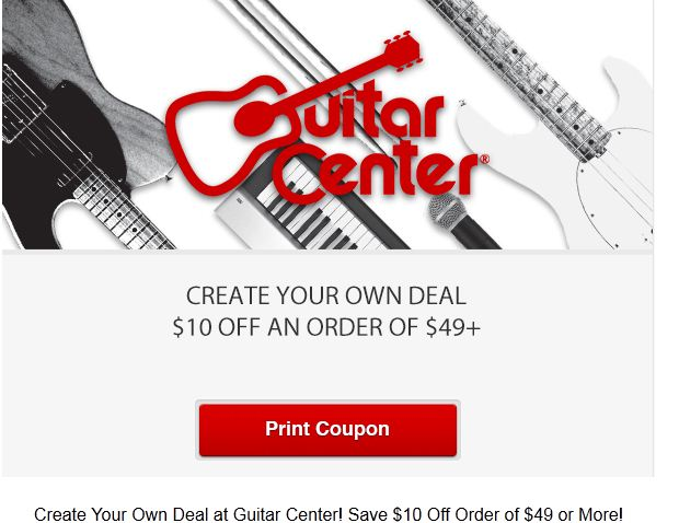 guitar center printable coupons december 2014. Black Bedroom Furniture Sets. Home Design Ideas