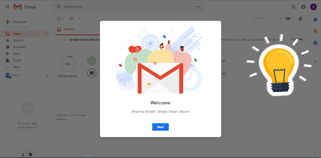 انشاء حساب Gmail الدرس الاول من دورة انشاء مدونة بلوجر جديدة- Blogger,انشاء جي ميل الخطوة الاخيرة