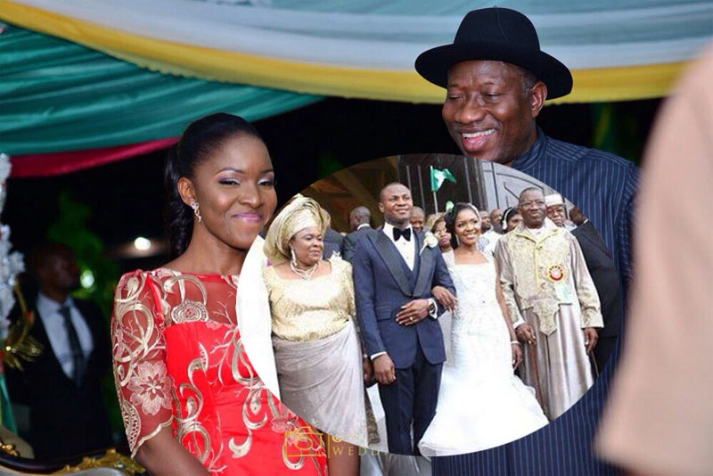 GEJ gave 80 cars to his daughter during her wedding - Presidency