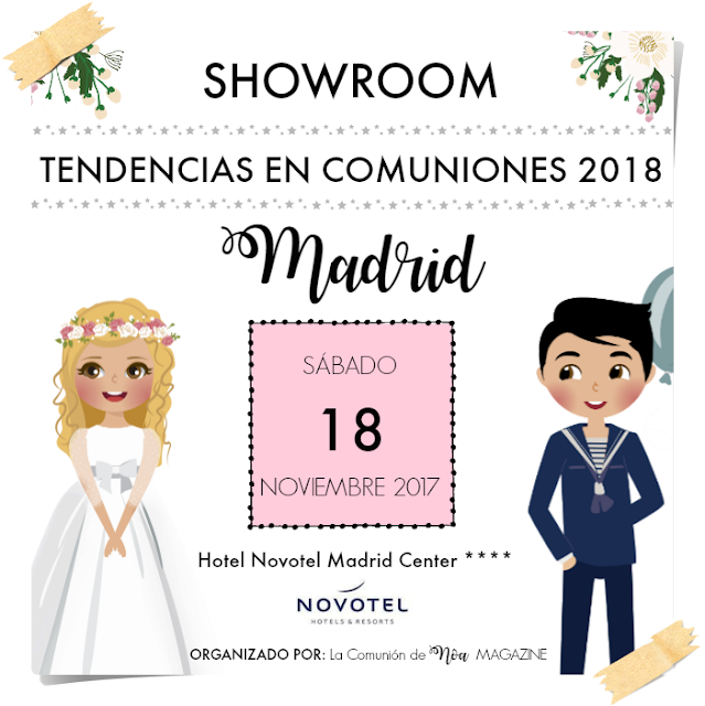 showroom tendencias en comuniones 2018 - la comunion de noa