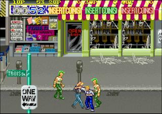 Pantallazo Videojuego Crime Fighters