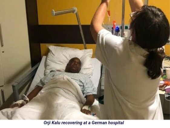 Ex-Gov Uzor Kalu Undergoes Major Surgery In Germany
