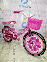16 Inch Family Lilies Kids Bike