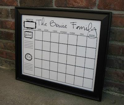 Our Family Calendar