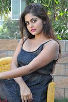 Pragya Nayan New Fresh Telugu Actress Stunning Transparent Black Deep neck Dress ~  Exclusive Galleries 048.jpg