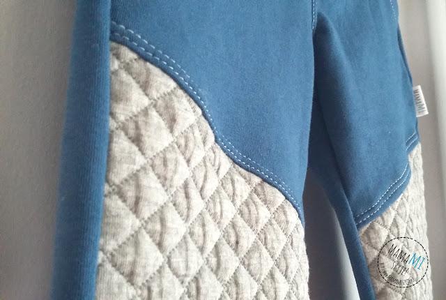 pikowana dzianina dresowa na spodnie