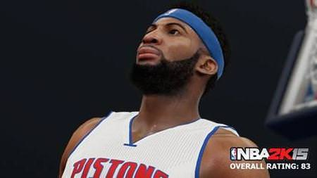 NBA 2k15 new screenshot Andre Drummond hoopsvilla.com