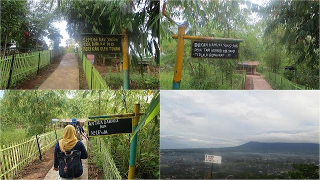 Curhatan di Gunung Sunda Sukabumi