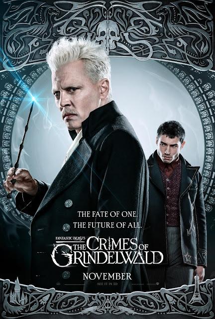 Novos pôsteres dos personagens de 'Os Crimes de Grindelwald' são divulgados | Gerardo Grindelwald e Credence Barebone | Ordem da Fênix Brasileira