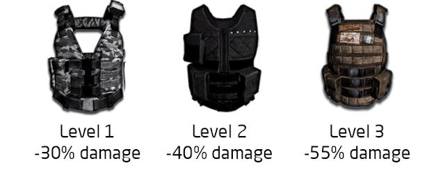 دروع لعبة ببجي – لعبة PUBG Shields