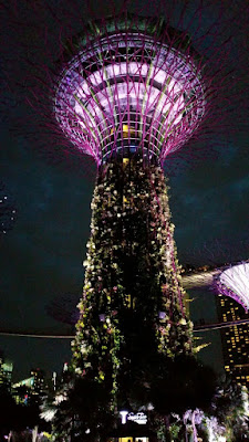 Indochine, Supertree grove, gardens by the bay