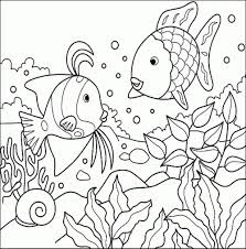Aquarium Fish Coloring Pages Animals