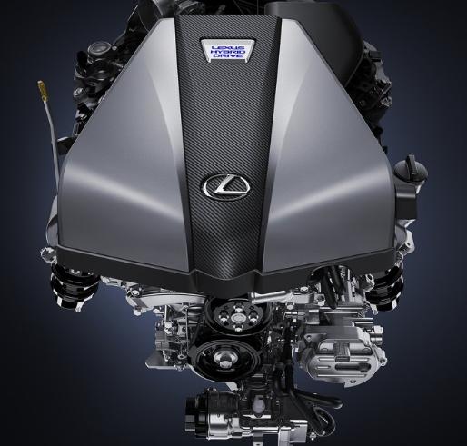 2017 Lexus 500h Engine