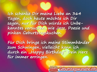 Geburtstagswünsche von Herzen