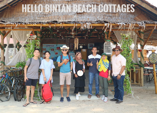 Menikmati Suasana Nyaman Hello Bintan Beach Cottages