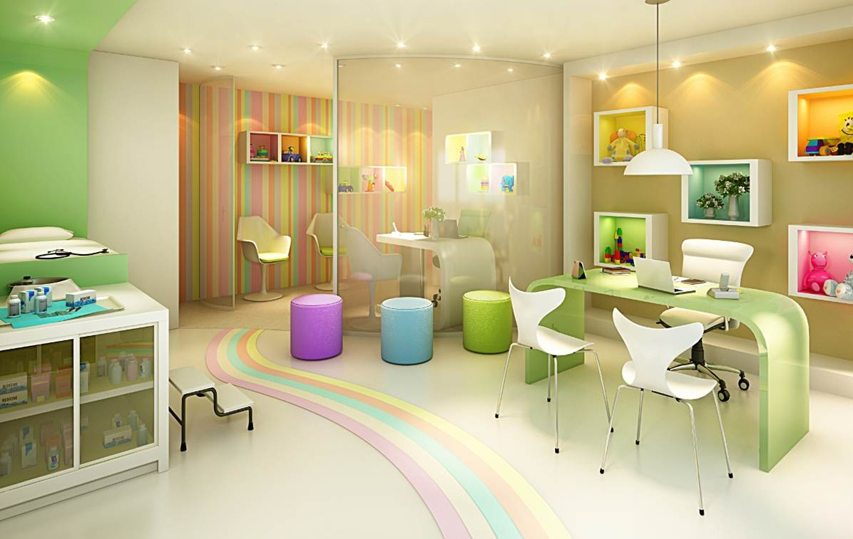 1000 Images About Ideas Para El Consultorio On Pinterest: 1000+ Images About Pediatric Office Design Ideas On