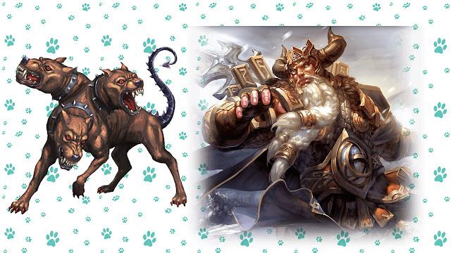 nombres para perros mitologia