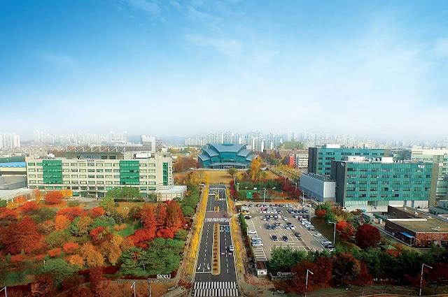 Trường đại học Sungkyunkwan nhìn từ trên cao