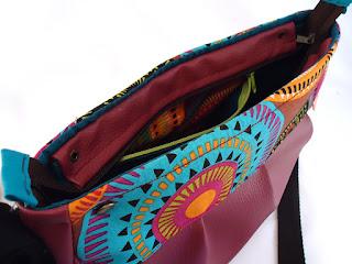 sac coloré forme originale