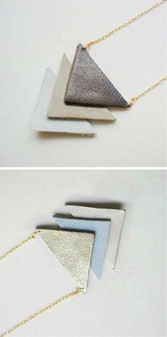 bijoux cuir DIY