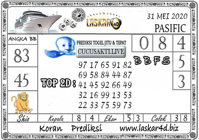 Prediksi Togel PASIFIC LASKAR4D 31 MEI 2020