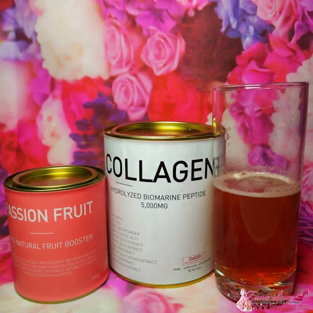 Project B Hydrolyzed Collagen Peptide And Natural Fruit Booster