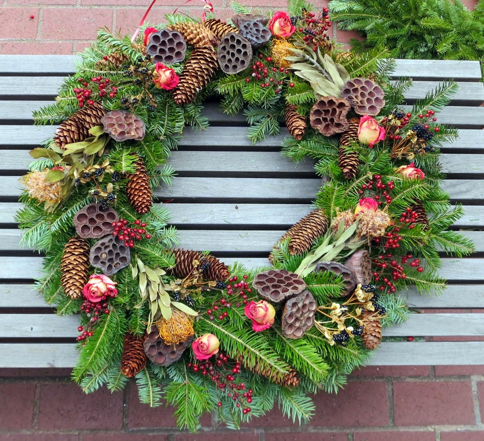 a proper bostonian wreath making day 3