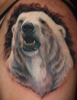ลายสักหมี