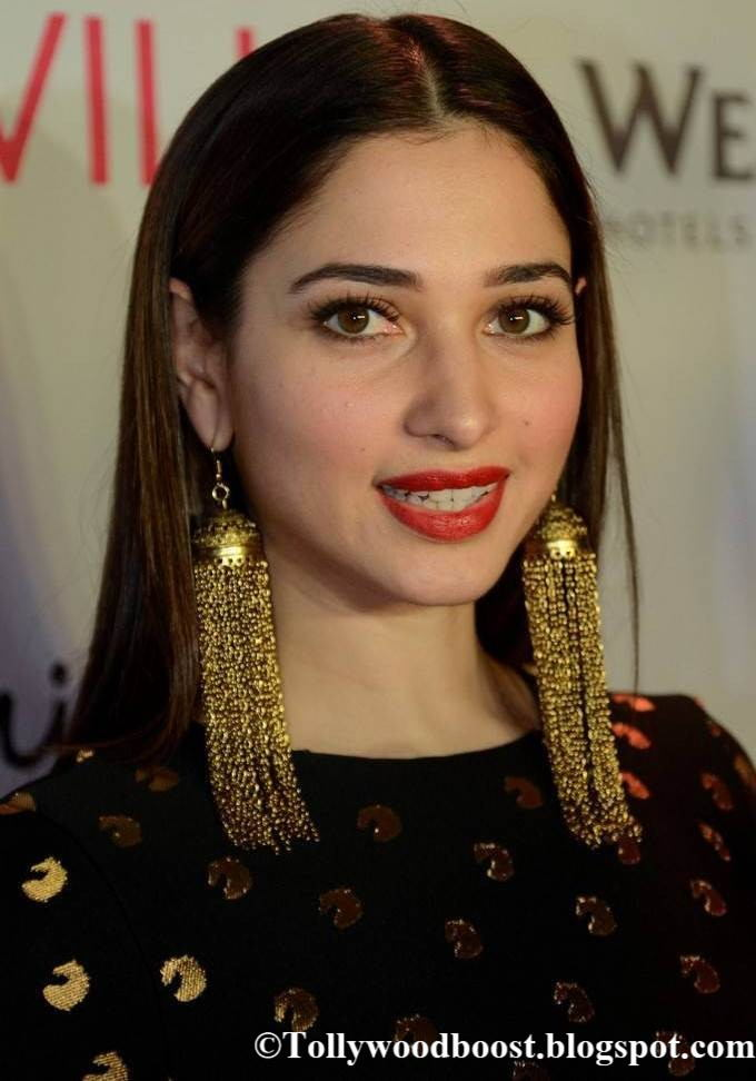 Tamannaah Stills At Showcase The Collection Of Bahubali 2