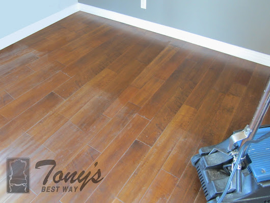 Hardwood Floor Refinishing San Diego (Before and After Photos)