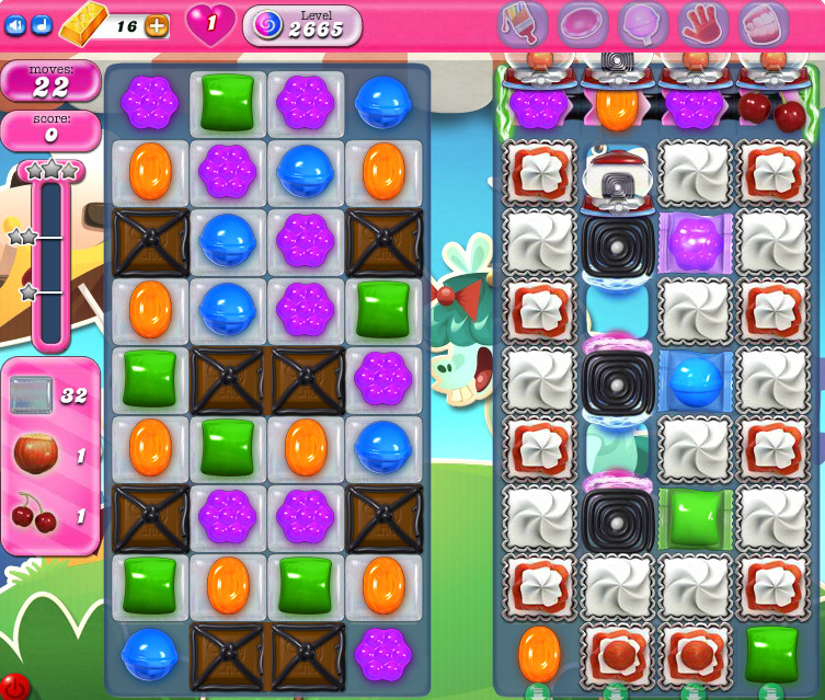 Candy Crush Saga level 2665