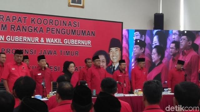 PDIP Resmi Usung Gus Ipul-Azwar Anas di Pilgub Jatim 2018