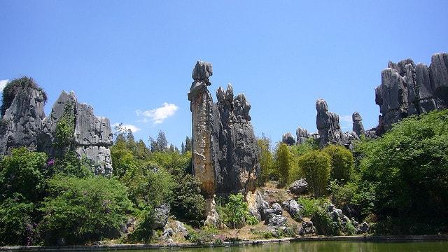Shilin Stone Forest, China