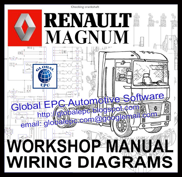 GLOBAL EPC AUTOMOTIVE : RENAULT MAGNUM WORKSHOP SERVICE ... on