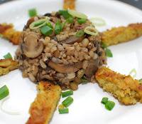 Risoto de Cogumelos (vegana)