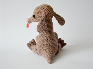 Krawka: Anteater crochet pattern, cute baby animal pattern by Krawka