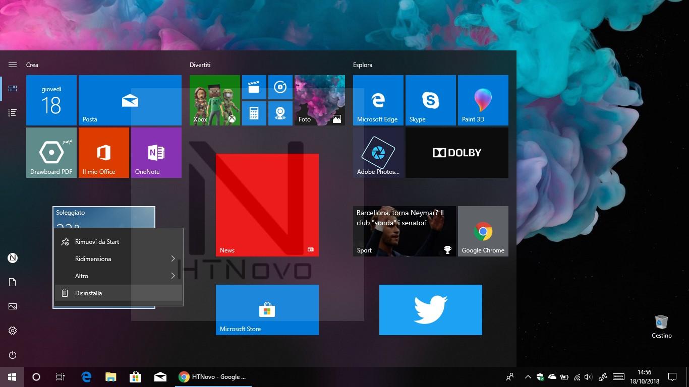 Windows-10-1903-disinstalla-app-uwp