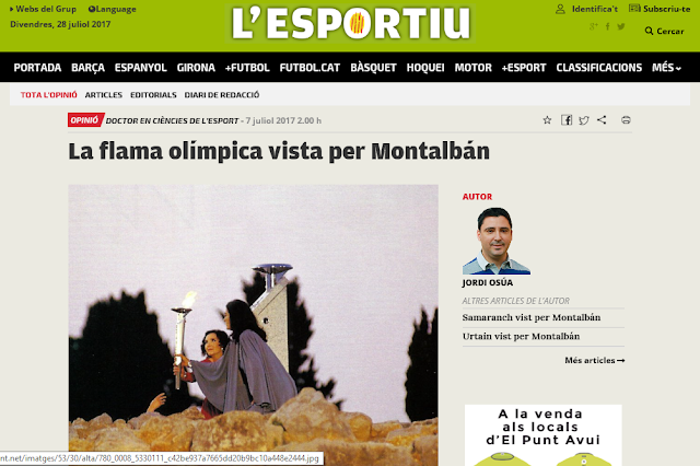 http://www.lesportiudecatalunya.cat/opinio/article/1187864-la-flama-olimpica-vista-per-montalban.html