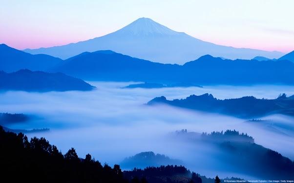 Mount Fuji Silhouette (Japan)