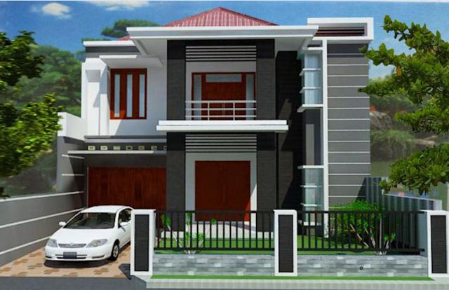 Gambar 4 Rumah Minimalis type 45