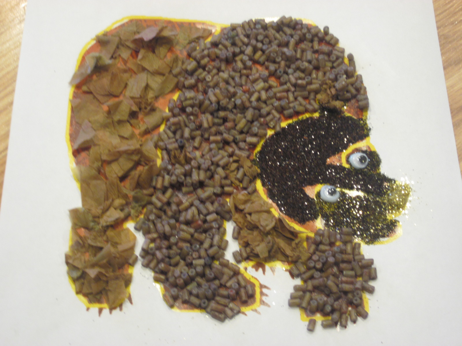 "Brown Bear, Brown Bear, What Do You See?"" Inspired Sensory Craft For ..."