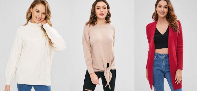Jesienne sweterki