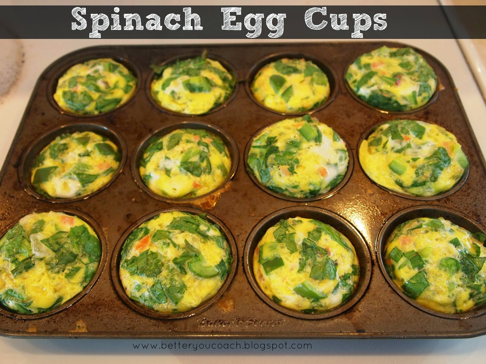 Betteryou Health Amp Fitness Spinach Egg Cups Recipe