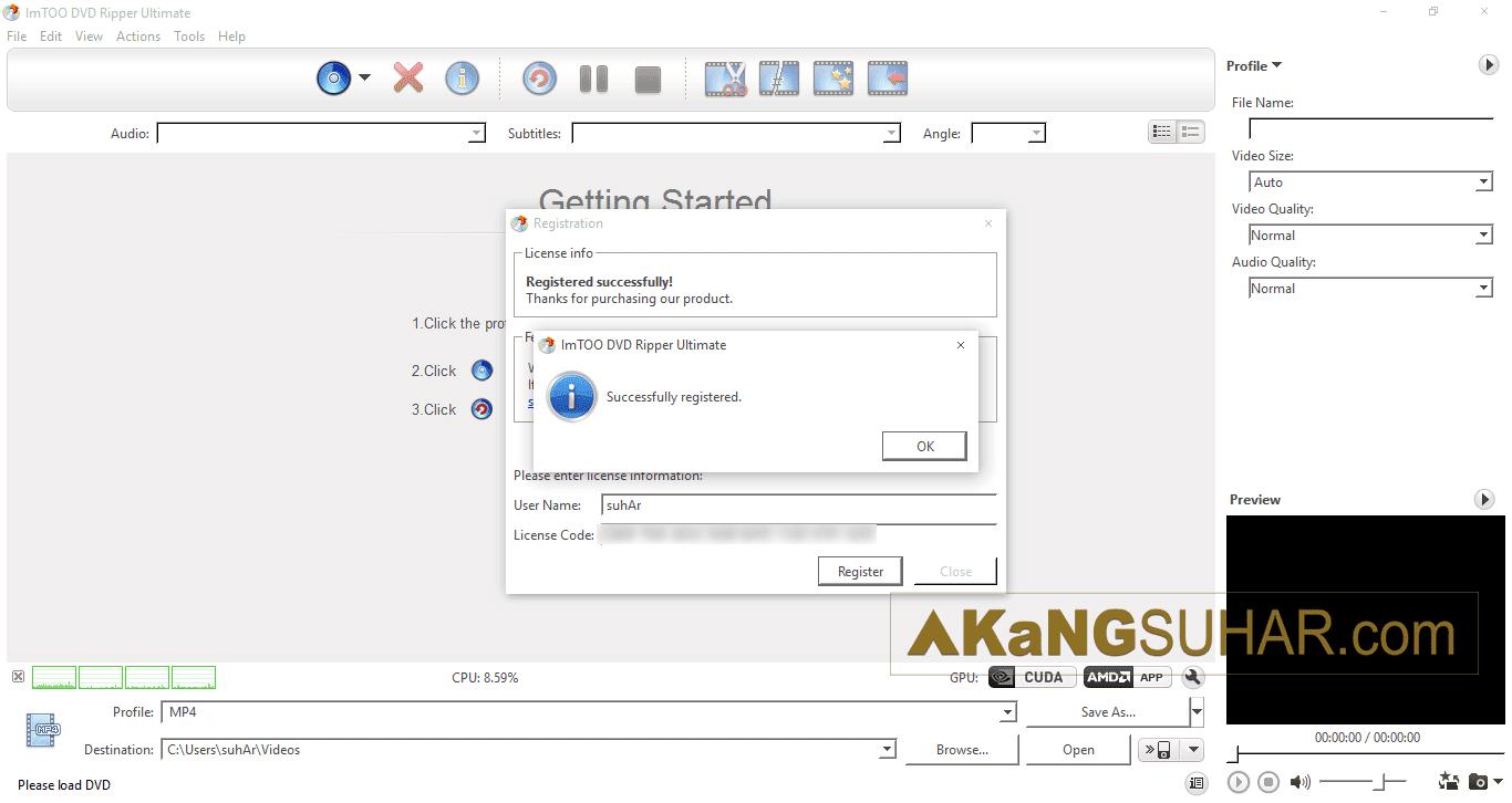 Free download software ripping video converter ImTOO DVD Ripper Ultimate 7 Full serial number terbaru for windows latest version full crack update 2017 www.akangsuhar.com